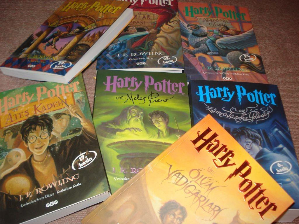 harry-potter-kitapları