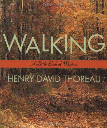 thoreau essays walking Read thoreau's major essays online - reform essays (civil disobedience), walking essays (a winter walk) and natural history essays (wild apples.