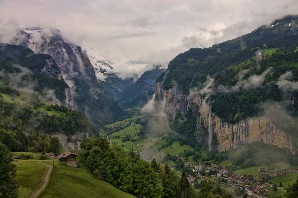 Lauterbrunnen, İsviçre.